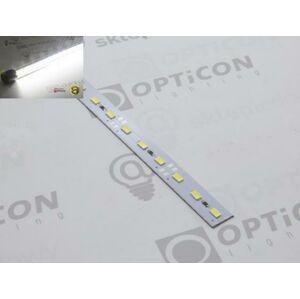 OPTICON LED pásek STUDENÝ 6000K 16W/m 72SMD5630/m, hliníková lišta, délka 50cm